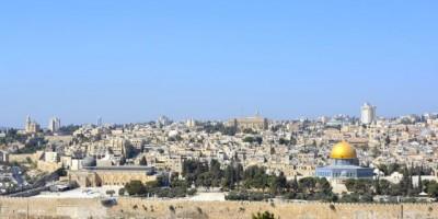 Wiederherstellung des Staates Israel mit Jerusalem als Hauptstadt