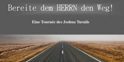 Eine Tournee des Joshuas Turnils