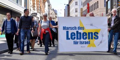 Marsch des Lebens für Israel Basel
