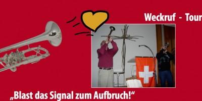 Blast das Signal zum Aufbruch!